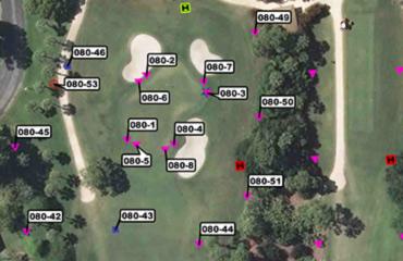Golf Irrigation Maps