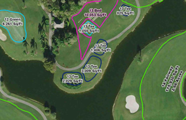 Golf Course Construction Map